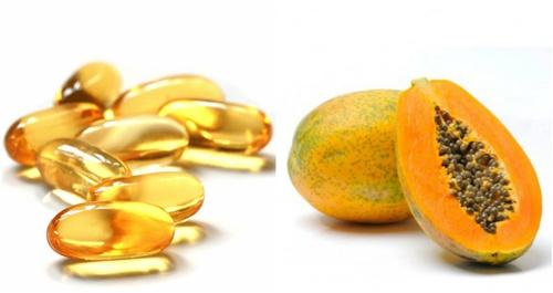 trị nám bằng vitamin e