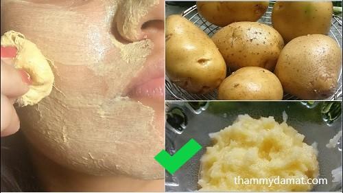mặt nạ khoai tây sống