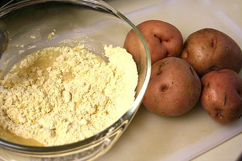mặt nạ đậu xanh khoai tây