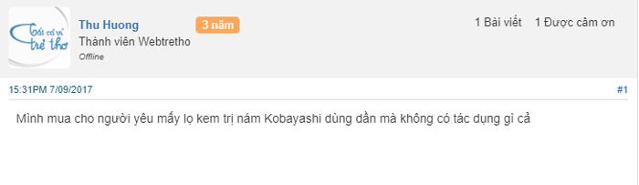 kem trị nám tàn nhang kobayashi