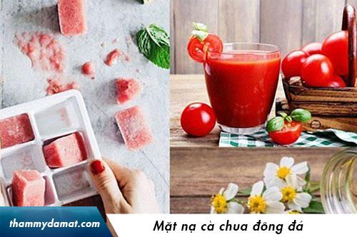 đắp mặt nạ cà chua bao nhiêu phút
