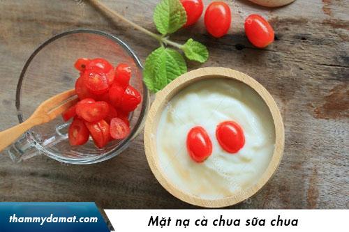 mặt nạ cà chua trị mụn