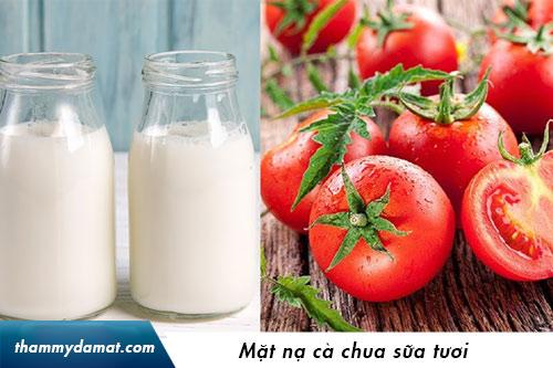 mặt nạ cà chua sữa chua