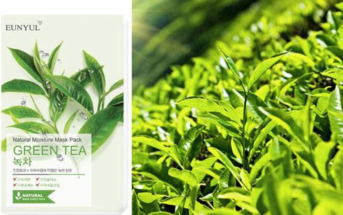 mặt nạ eunyul trà xanh