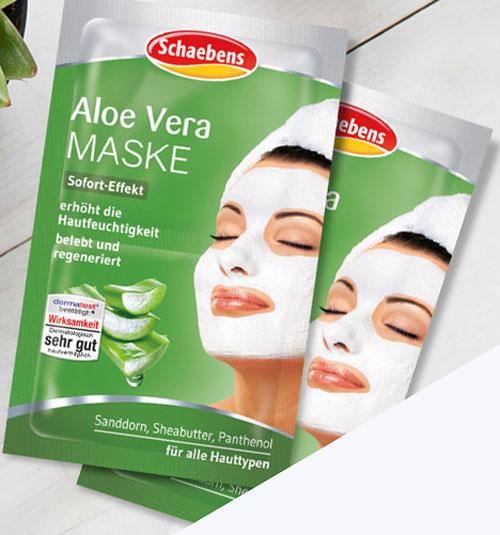 mặt nạ aloe vera maske