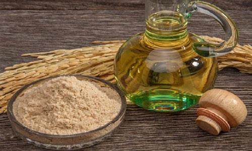 mặt nạ cám gạo dầu oliu