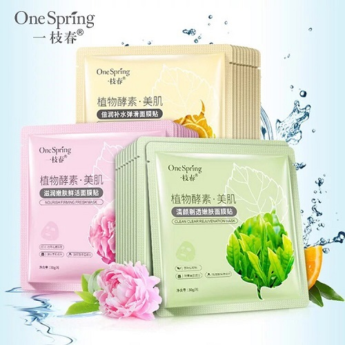 mặt nạ one spring hoa quả