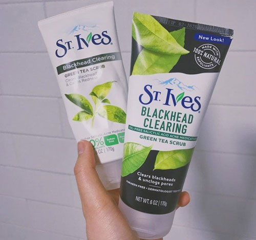 Sữa rửa mặt ST Ives trà xanh